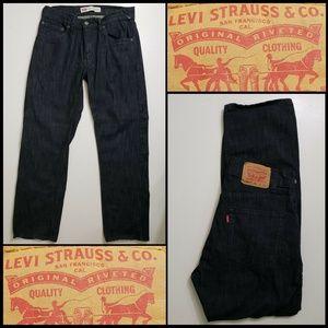 Levis 541 Kid Men Athletic Fit Denim Straight Jean